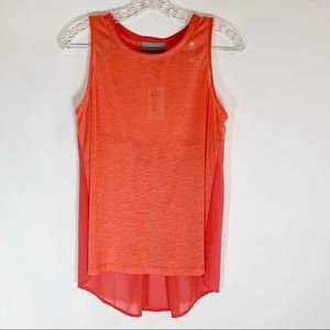 🌼Skies are Blue Sleeveless  Coral Blouse